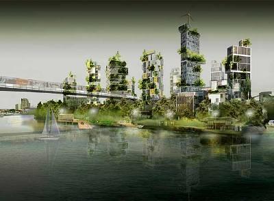 Propuesta de Roland Castro para París (imagen de albertanorweg.blogspot.com)