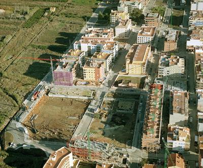 Urbanización PAI A-25, A-26 y A-30 en Moncofar, Castellón, 2004. Proyecto de Pau Arrandís García (imagen procedente de edycon.com).