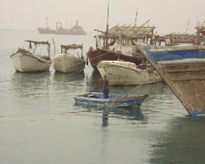 Imagen del puerto de Berbera (imagen de travelblog.org)