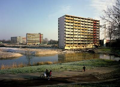 Una vista de Bijlmermeer (procedente de amsterdamtour.it)