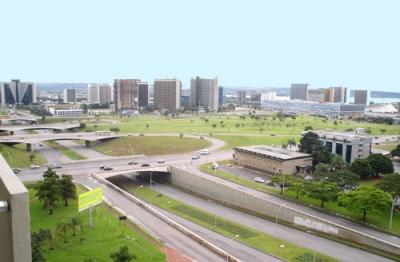 Vista del centro de Brasília (imagen procedente de bandaoriental.net)