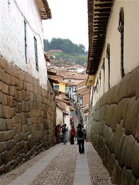 Piedra en las calles de Cuzco (imagen de dmgmit.homeip.net)