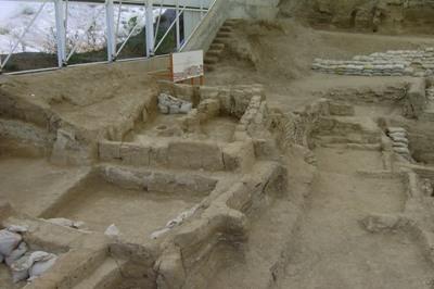 Excavaciones en Çatalhöyük (imagen procedente de wikimedia.org)