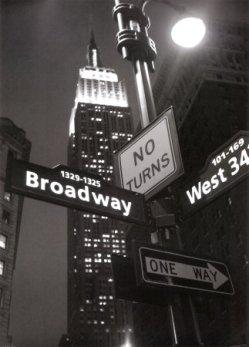Una imagen clásica de los indicadores de Nueva York (procedente de imagecache2.allposters.com)