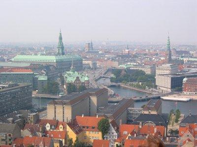 Vista general de Copenhague