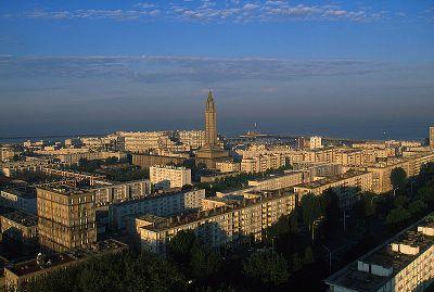 Vista aérea de Le Havre, Francia (imagen procedente de wikipedia.org)