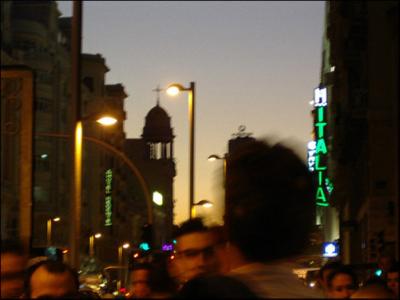 Madrid noche (imagen procedente de polargirl.iespana.es)