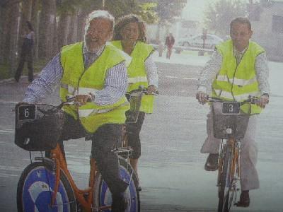 Foto de la portada de El Norte de Castilla del 21 de septiembre de 2007. La fotografía original es de Gabriel Villamil.