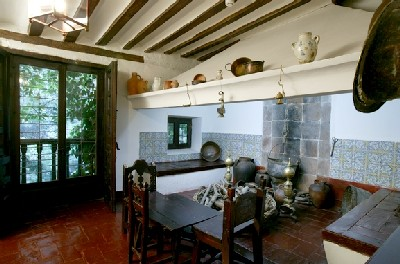 Cocina de la Casa de Cervantes de Valladolid. Foto de la pgina web del Ministerio de Cultura