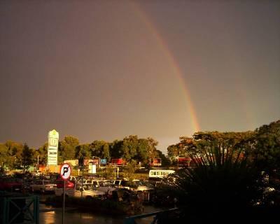 Arco iris sobre Lusaka (imagen procedente de lumba.homestead.com)