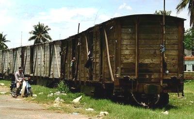 Viviendo en vagones de tren abandonados (Imagen procedente de 6climats6habitats.com)