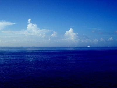 Una imagen del océano (Blue Ocean 1024, por Aube Insanité, vista en flickr.com/photos/99704136@N00/348965234/)