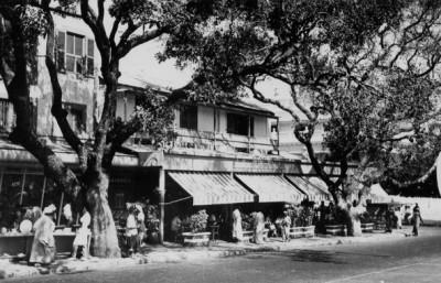 El café Protêt, Dakar (imagen procedente de fondosimagenes.com)