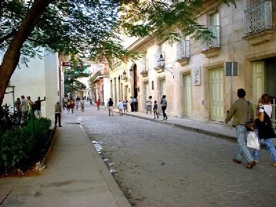 Una calle de La Habana. Imagen procedente de cubaycuba.net