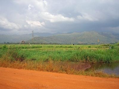 Vista del Alto Valle del Nun, en Camerún (imagen procedente de ibike.org/bikeafrica/cameroon/2007).