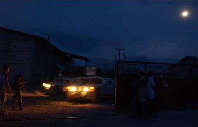 Una imagen de la noche de Haití (procedente de taringa.net)