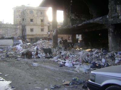 Una imagen del campo de refugiados de Chatila en 2009 (procedente de refunitebrasil.files.wordpress.com)
