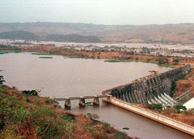 Vista aérea de la presa del Inga, en La República Democrática del Congo (imagen procedente de static.howstuffworks.com)