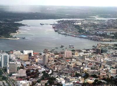 Vista de Dar es Salaam, en una imagen procedente de amani-tours.com