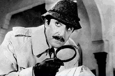 El inspector Clouseau en acción (imagen procedente de actioncinemas.com)