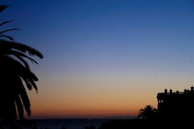 Anochecer en Portimão, Portugal, el 15 de enero de 2007 (imagen procedente de chocoadicta.com)