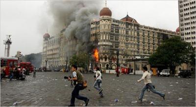 Atentados de finales de noviembre de 2008 en Mumbai (imagen procedente de vincentloy.wordpress.com)