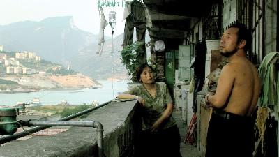 Fotograma de Sanxia haoren, de Jia Zhang Ke, 2006.