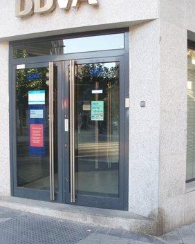 Un cajero de Valladolid (foto: MS, septiembre 2009)