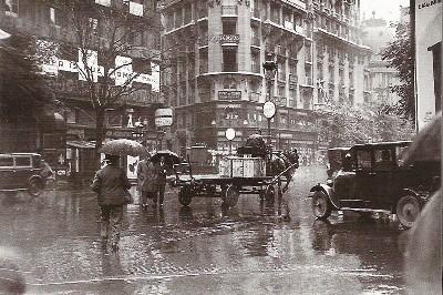 Paris sous la pluie, 1929. Foto de meteo-paris.com