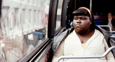 Gabourey Sidibe, en un fotograma de Precious (Lee Daniels, 2009)