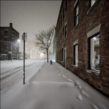 La calle nevada (imagen de wvs.topleftpixel.com)