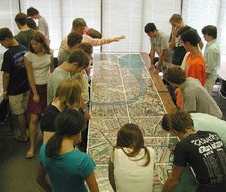 Clase del profesor Dunay en el verano de 2005 (Virginia Tech's School of Architecture + Design)
