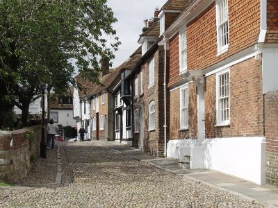 Church Square, en la pintoresca villa medieval de Rye, Sussex (imagen de beenthere-donethat.org.uk)