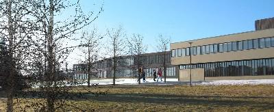 Imagen del Hamrahlid College, diseño de Studio Granda Architects, Reykjavík, 2005