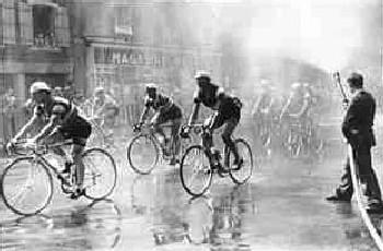 Una imagen del Tour de Francia en los años 60, procedente de cyclisme-info.net/histoire