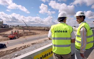 El subdelegado del Gobierno en Valladolid, Cecilio Vadillo, visita las obras de la Ronda Exterior Sur (Foto de ICAL)