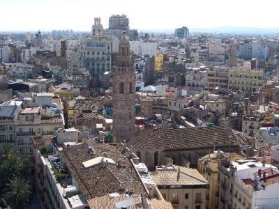Vista aérea del centro de Valencia (imagen procedente de media-cdn.tripadvisor.com)