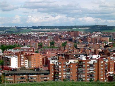 Vista general de la zona norte de Valladolid (foto de Valle de Olid, publicada el 4 de mayo de 2007 en skyscrapercity.com)