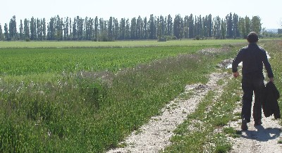 Terrenos del este de la ciudad que han pasado a ser urbanizables en el nuevo Plan General de Valladolid (Foto: MS)