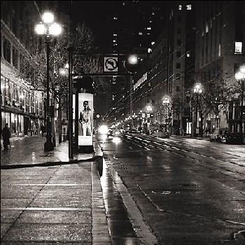 Tarde lluviosa en Market Street, San Francisco (4 de noviembre de 2005. Imagen procedente de richimages.com